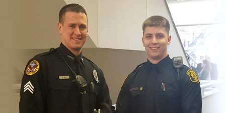 Criminal Justice Program at Seton Hill Gave Officer Brendon Noll A First-Hand View of What to Expect