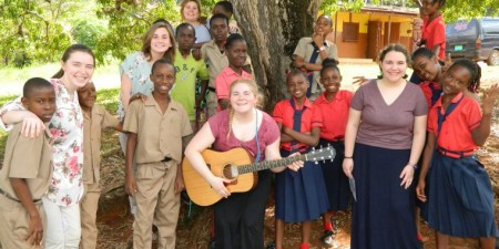 And Suddenly She Started to Sing: Music Therapy Majors Build Houses & Friendships in Jamaica