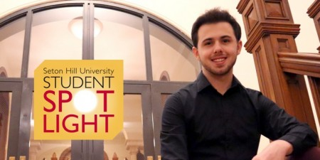Theatre Business Major Sets the Stage for His Future