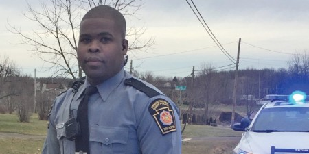 Criminal Justice Grad Trask Alexander Builds Community Relationships as PA State Trooper