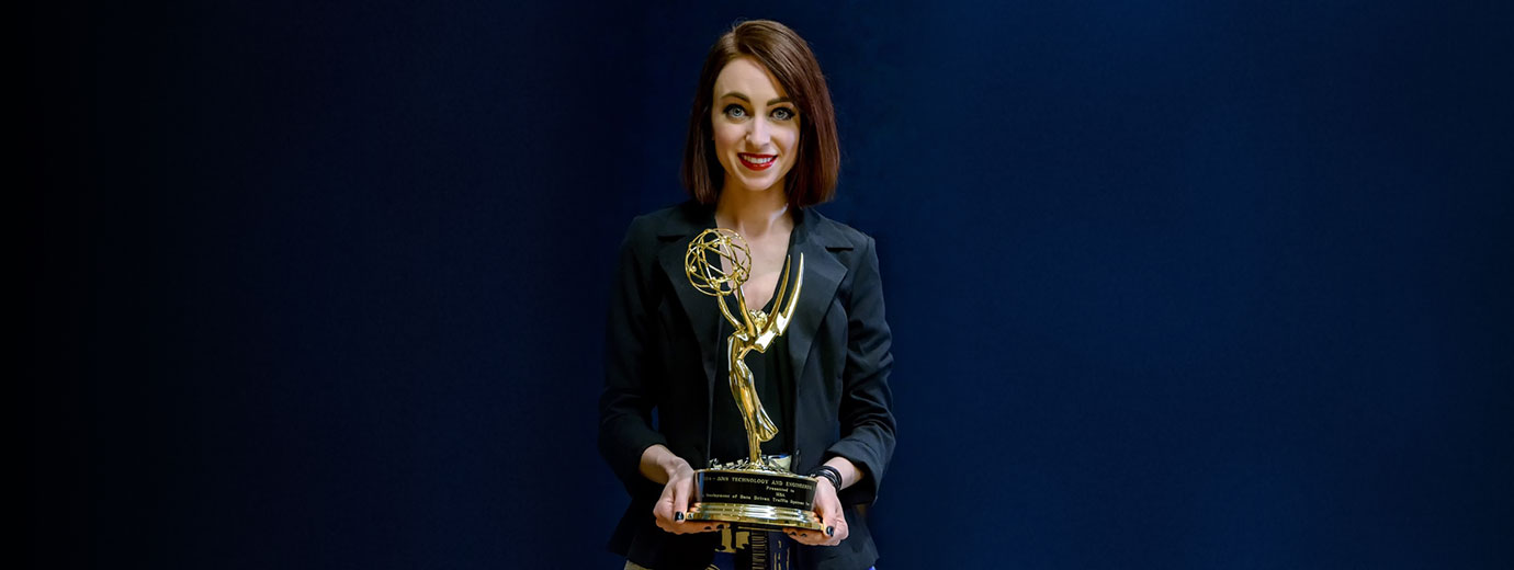 Communication Major Livia Vissat '14 Works for Emmy Award-Winning Company