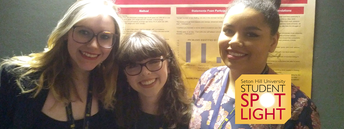 Psych & Social Work Majors Do Their Own Research Into Food Insecurity