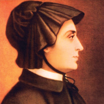 Painting of Saint Elizabeth Ann Seton