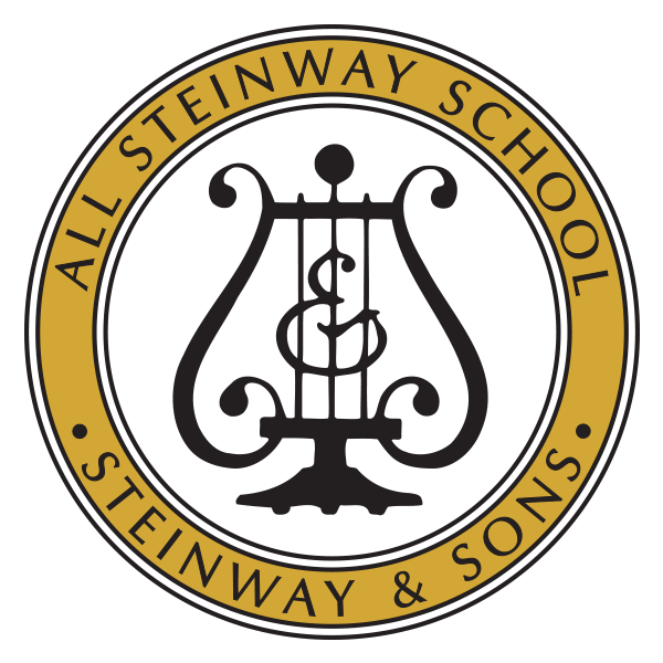 All-Steinway School badge