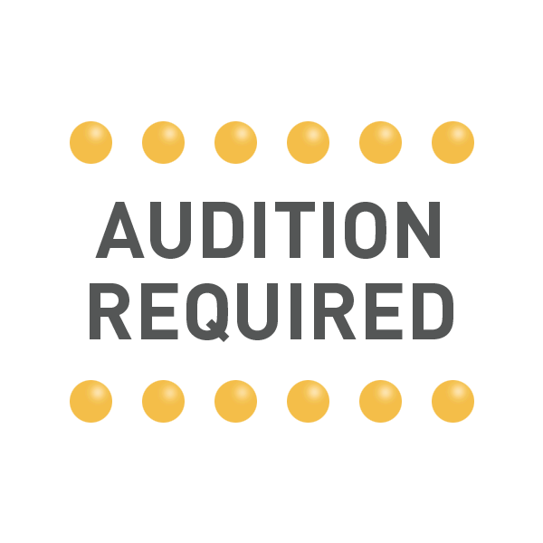Audition Required Graphic