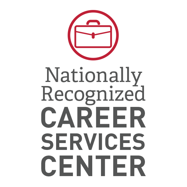 Nationally-Recognized Career Services Center