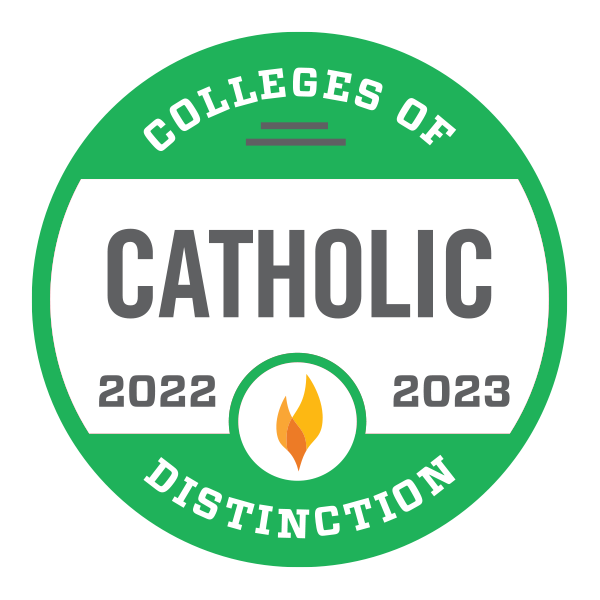 Catholic College of Distinction badge