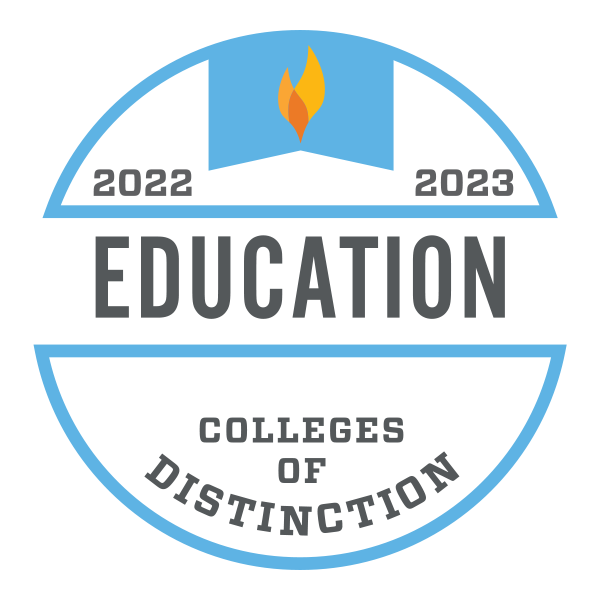 Education Colleges of Distinction Logo