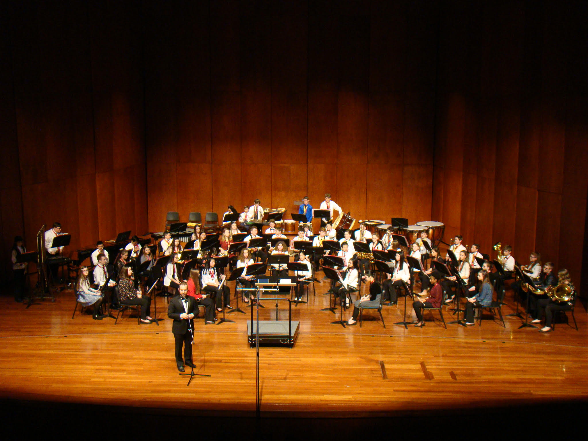 Photo of SHU Youth Honors Concert Band