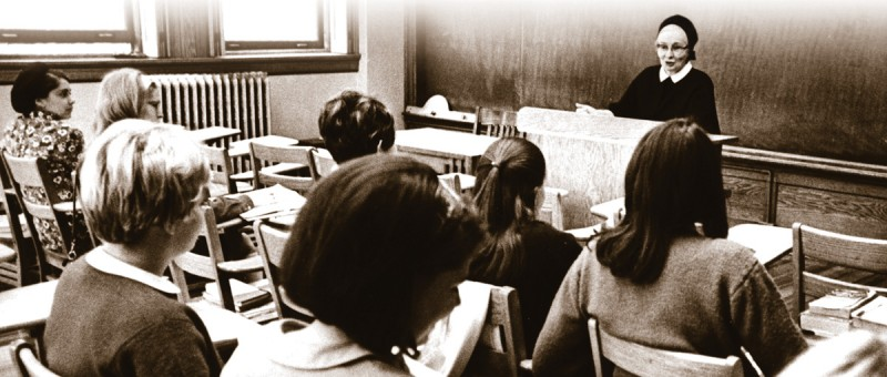 Sr. Miriam Joseph Murphy in the Classroom