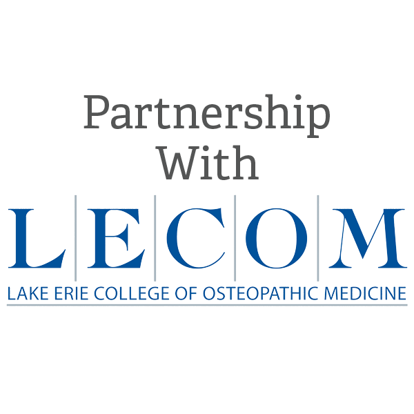 LECOM Partnership Graphic
