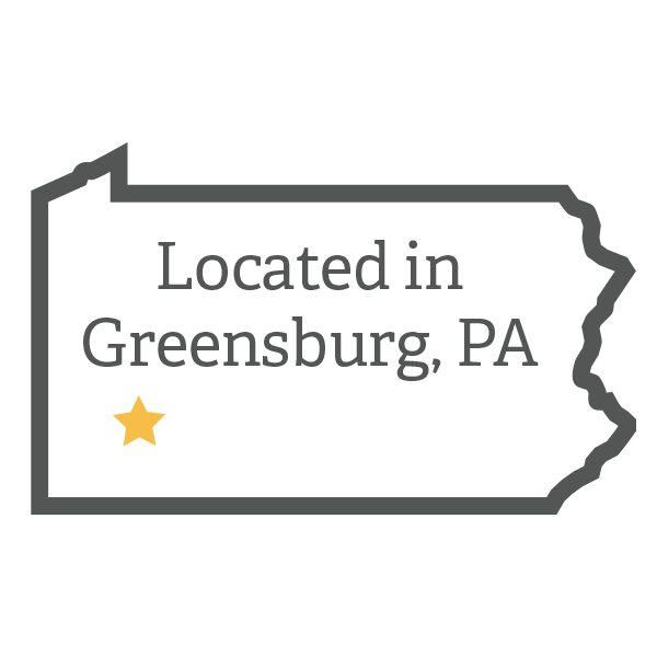 Greensburg is in Southwestern Pennsylvania