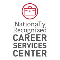 Nationally recognized career services graphic