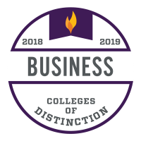 Business College of Distinction Logo
