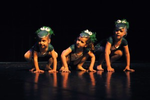 Young Dancers perform in the SHU Dance Academy Tiny Tots Celebration