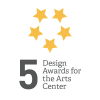 Five Design Awards for Arts Center Graphic
