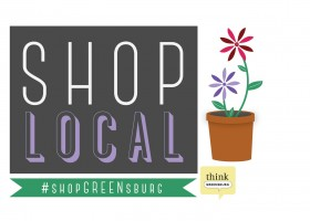 Shop Local Decal for May