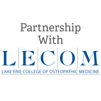 Partnership with LECOM Graphic