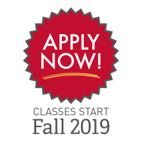 Apply Now Classes Start Fall 2019 Graphic
