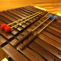 Photo of Orff instruments and mallets