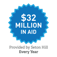 $32 Million in Annual Seton Hill Aid Graphic