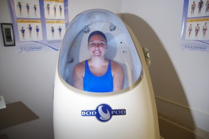 Bod Pod at Seton Hill