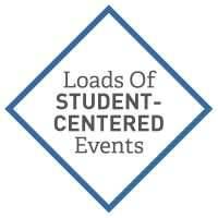 Student Centered Events Graphic