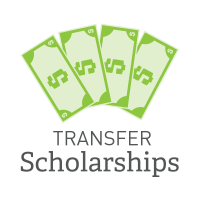 Transfer Scholarships Graphic