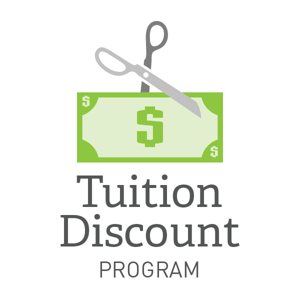 Find out more about Tuition Discounts and Aid