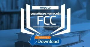 fcc - questões de portgues