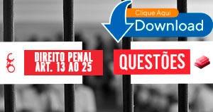 decreto penal art. 13 ao 25