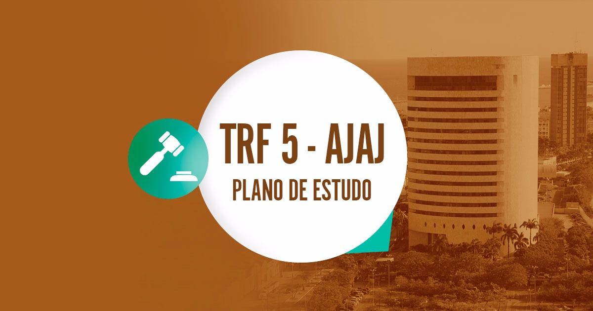 TRF 5 - PLANO DE ESTUDO