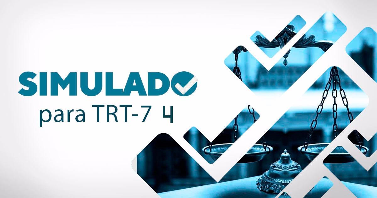 simulado 4 trt - 7