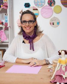 Lu Gastal faz acontecer no artesanato com bonecas Tilda e patchwork