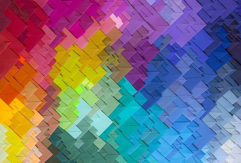 Tire todas as suas dúvidas sobre como combinar cores (crédito da foto: design crush blog)