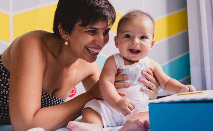 Tereza Pires e seu filho Tom (crédito das fotos: Mariana Leal Fotografia)