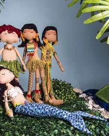 Lista de materiais do curso: Bonecas folclóricas, contos indígenas