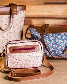 Aprenda com a eduK a fazer bolsas personalizadas, como essas em couro, e conquiste diferentes nichos de clientes!