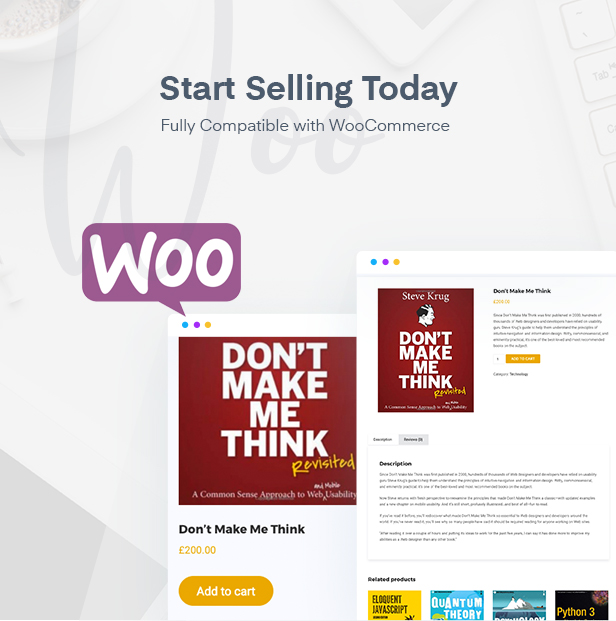 WooCommerce ready education WordPress theme