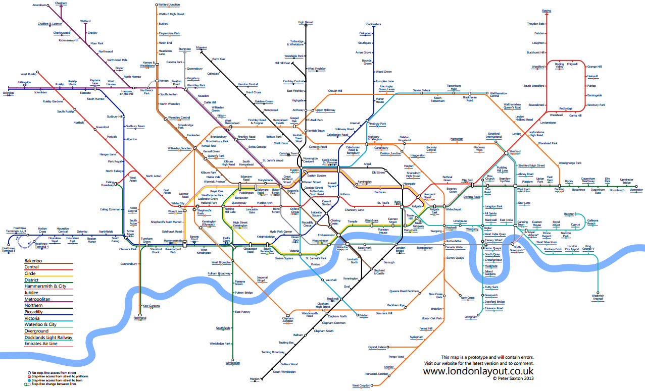 London Light Rail Map.Edward Tufte Forum London Underground Maps Worldwide Subway Maps