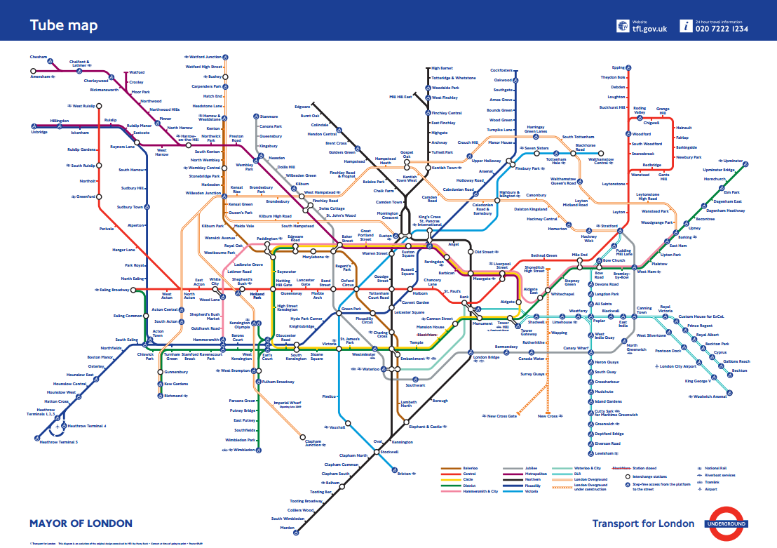 Subway Map Pdf Chicago.Edward Tufte Forum London Underground Maps Worldwide Subway Maps