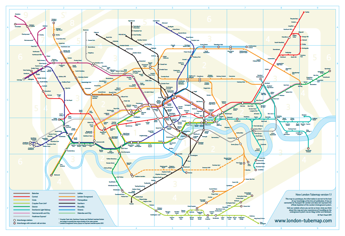 Edward Tufte forum London Underground maps worldwide subway maps