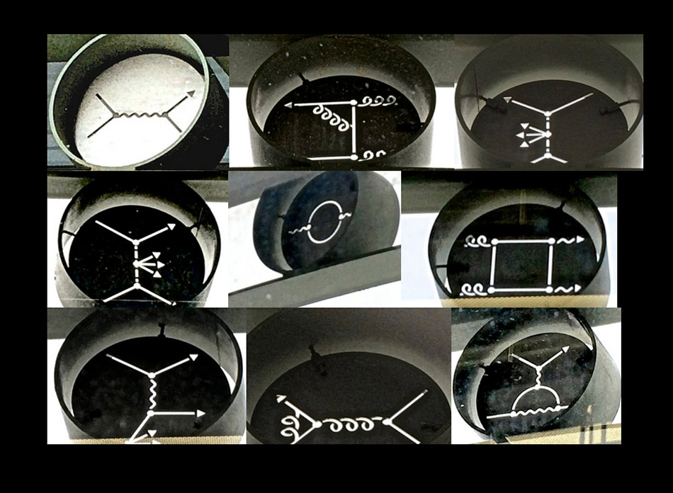 Images by Edward Tufte at Fermilab
