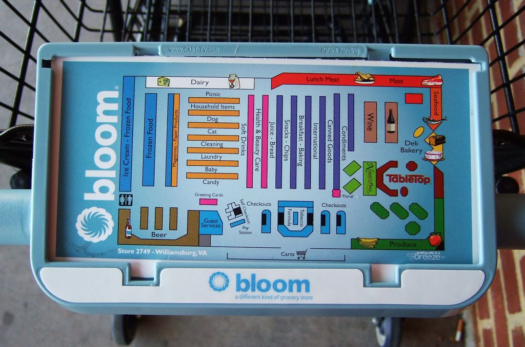 Bloom grocery map