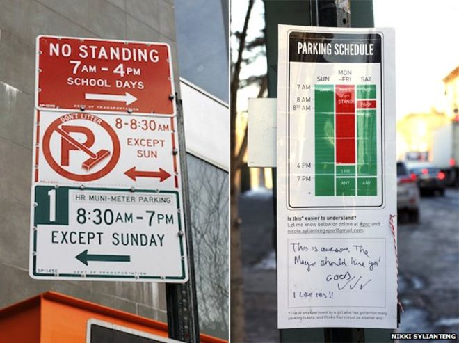 alternate parking signs