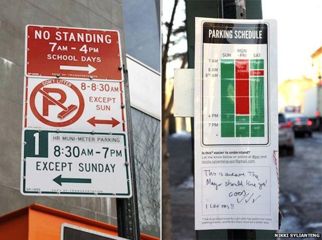 alternate parking signs