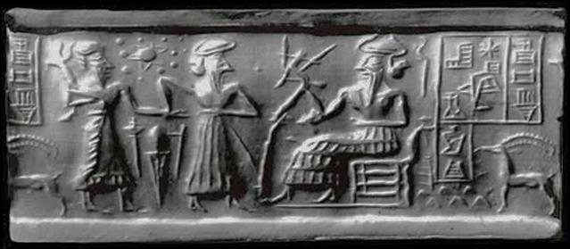Sumerian seal