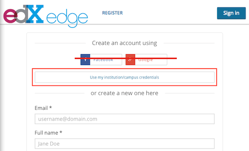 Setting up your edX Edge account - UBC CPSC 110