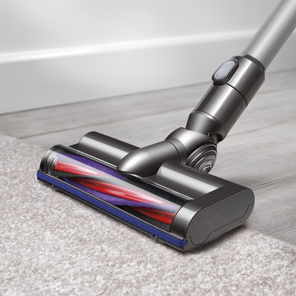 dyson v6 cordless vacuum cleaner silver new. Black Bedroom Furniture Sets. Home Design Ideas