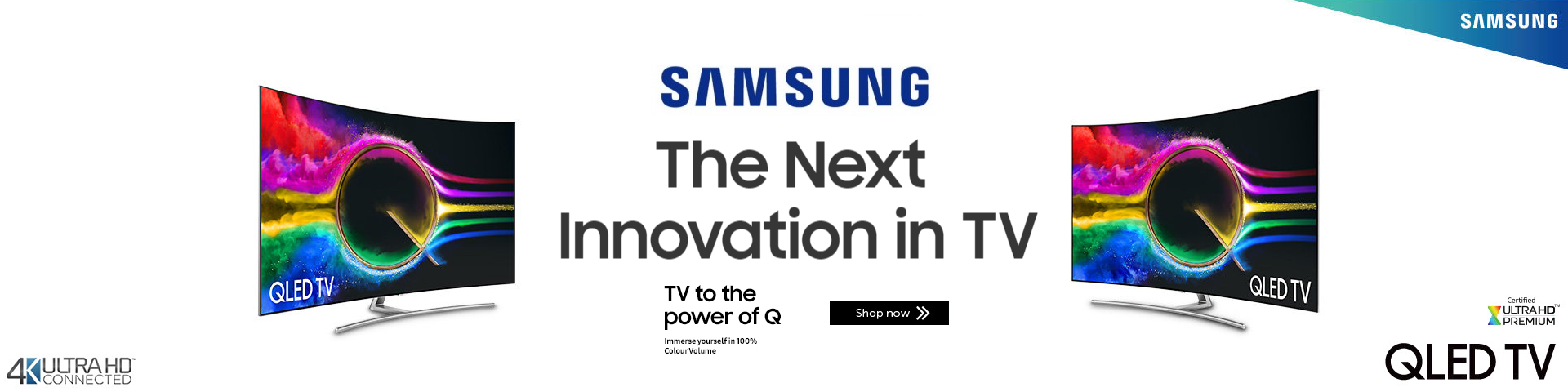 *Samsung QLED - The Next Innovation in TV